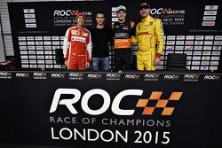 Sebastian Vettel, Pascal Wehrlein, Nico Hülkenberg, Ryan Hunter-Reay
