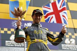 Podium: third place Alexander Sims, Double R Racing