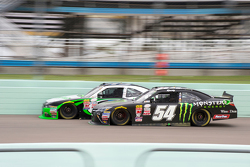 Kyle Busch, Joe Gibbs Racing Toyota leads the pace lap