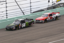 Kyle Busch, Joe Gibbs Racing Toyota and Ryan Reed, Roush Fenway Racing Ford