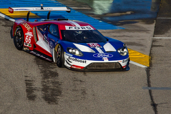 The Chip Ganassi Racing Ford GT LM makes a parade lap