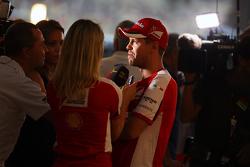 塞巴斯蒂安·维特尔,法拉利车队,接受媒体采访
