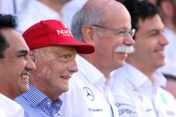 Niki Lauda, Mercedes GP