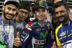 Jorge Lorenzo, Yamaha Factory Racing with fans