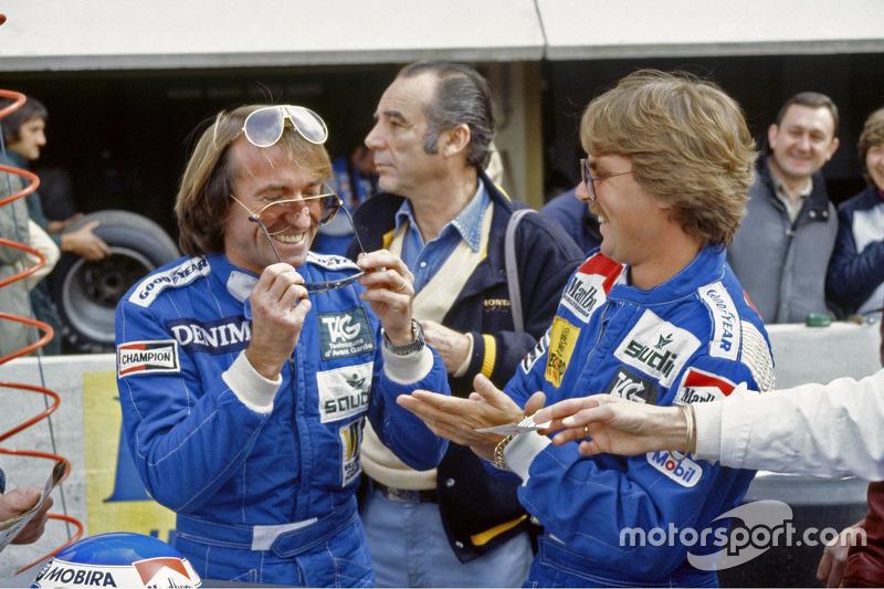 1983法国大奖赛:雅克·拉斐特、科克·罗斯伯格,威廉姆斯车队