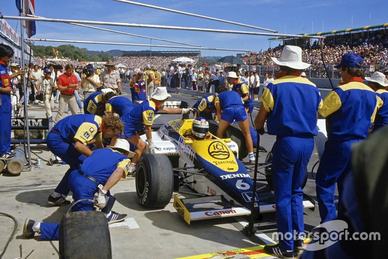 1985澳大利亚大奖赛:科克·罗斯伯格,威廉姆斯FW10