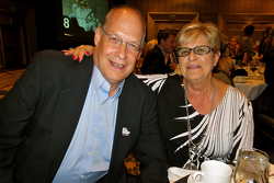 T.E. McHale, American Honda motorsports manager with his wife