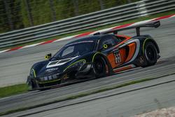FFF车队55号迈凯伦650S GT3:阿尔瓦罗·帕伦特、安德烈·卡戴利、安德鲁·沃特森、滨口浩