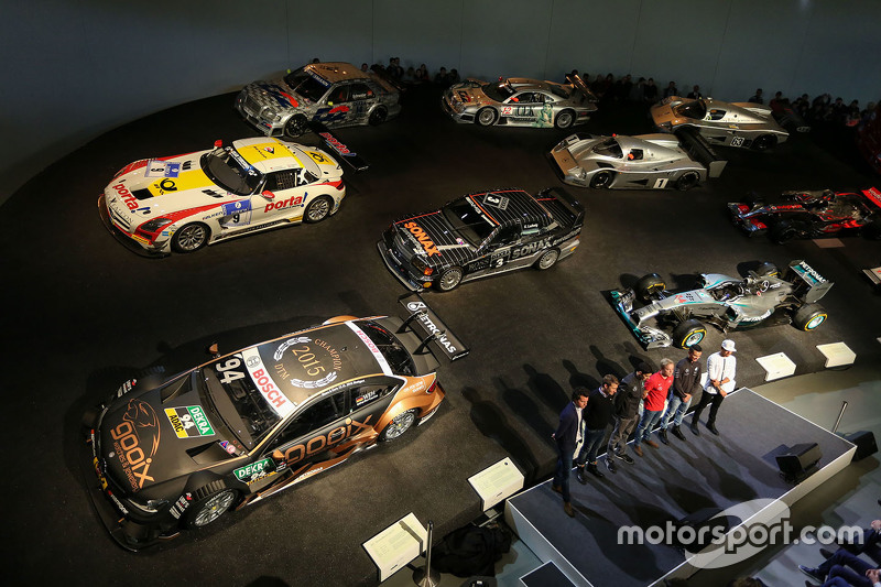 3. Mercedes museum atmosphere