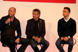 2016 Autosport International Warren Scott, Jason Plato and Colin Turkington