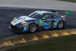 阿历克斯·乔布/西雅图车队23号保时捷991 GT3 R:伊恩·詹姆斯、马里奥·范巴赫、亚历克斯·利贝拉斯、沃尔夫·亨泽勒