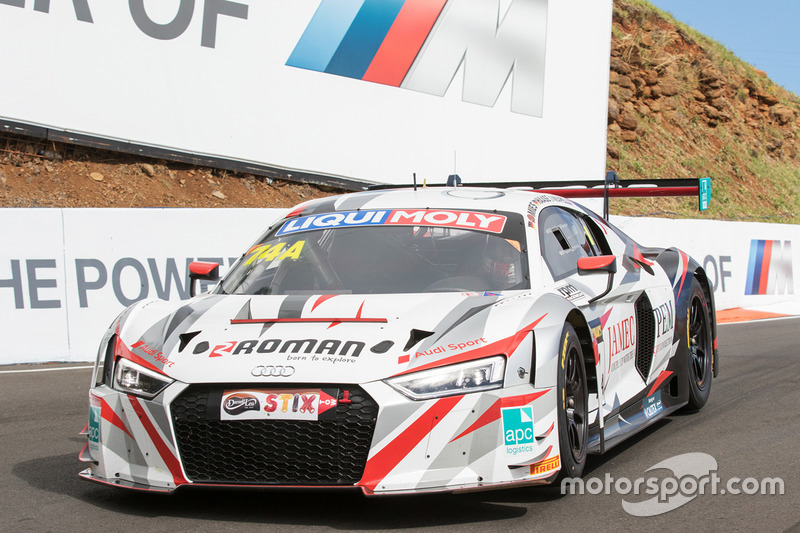 8. #74 Melbourne Performance Centre Audi R8 LMS: Christopher Mies, Christopher Haase, Marco Mapelli