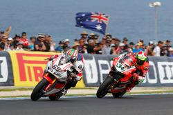 Nicky Hayden, Honda WSBK Team and Davide Giugliano, Aruba.it Racing - Ducati Team