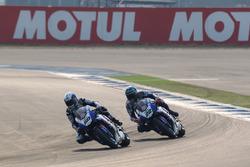Sylvain Guintoli, Pata Yamaha and Alex Lowes, Pata Yamaha