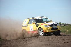 #34 Suzuki / SPOX.COM Suzuki Grand Vitara 3D DDiS: Andreas Kramer and Kurt Ettenberger