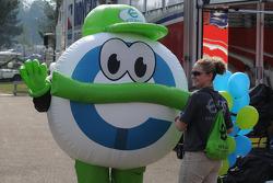 The Ethanol mascot