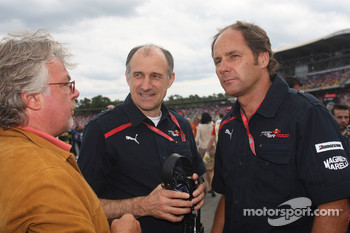 Keke Rosberg with Gerhard Berger, Scuderia Toro Rosso, 50% Team Co Owner