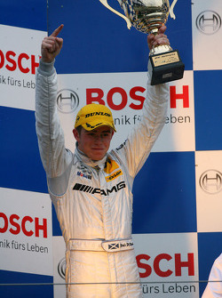 Podium: second place Paul di Resta