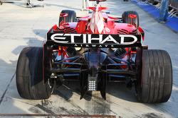 Rear of the Scuderia Ferrari, F2008