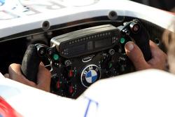 BMW Sauber F1 Team, steering wheel
