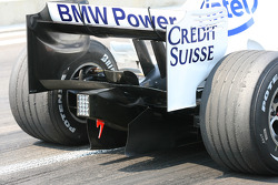 Diffuser Feature, BMW Sauber F1 Team