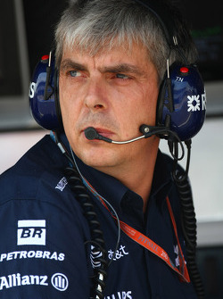Tim Newton, WilliamsF1 Team, Team Manager