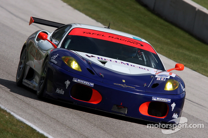 #71 Tafel Racing Ferrari F430 GT: Dirk Muller, Dominik Farnbacher