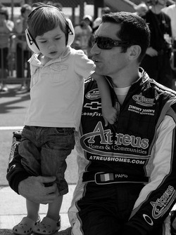 Max Papis with son Marco