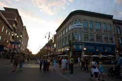 Street scene in Trois-Rivières