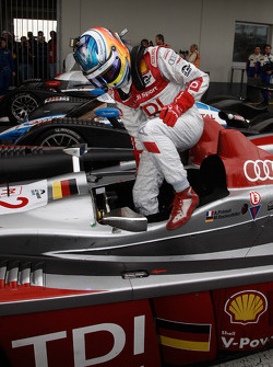 Mike Rockenfeller takes third place