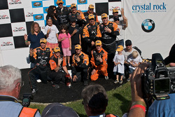 Mohegan Sun winning race team