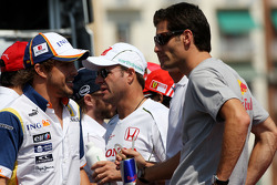 Fernando Alonso, Renault F1 Team, Mark Webber, Red Bull Racing