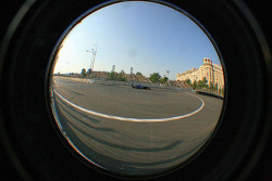 Last corner through a fisheye