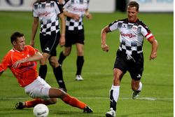Charity Football Match, Nazionali Piloti vs All Stars Team: Michael Schumacher, Test Driver, Scuderia Ferrari
