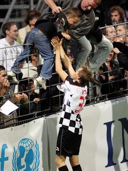 Charity Football Match, Nazionali Piloti vs All Stars Team: Sebastian Vettel, Scuderia Toro Rosso