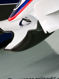 BMW Sauber F1 Team wing detail