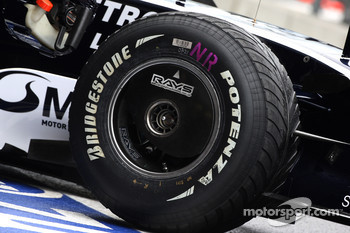 Wet Bridgestone Tyre