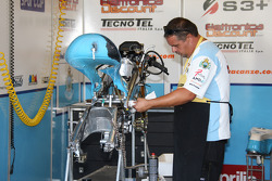 Fiat Yamaha team member at work