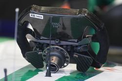 Honda Racing F1 Team, steering wheel