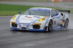 #90 Farnbacher Racing Ferrari F430 GT: Pierre Ehret, Pierre Kaffer, Anthony Beltoise