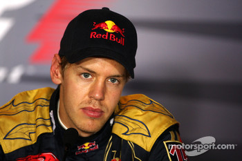 Post-race press conference: race winner Sebastian Vettel