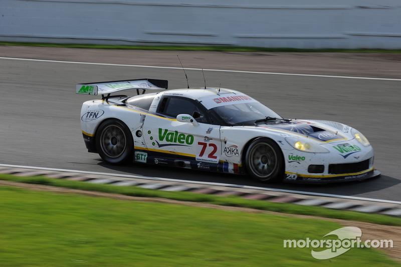 #72 Luc Alphand Aventures Corvette C6.R: Patrice Goueslard, Guillaume Moreau