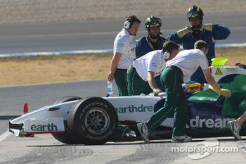 Honda Racing F1 Team, Running KERS on their car in Jerez , Mike Conway, Test Driver, Honda Racing F1 Team, RA108