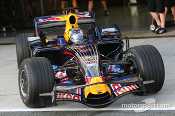 Sebastian Vettel, Red Bull Racing, RB4