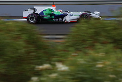 Alexander Wurz, Test Driver, Honda Racing F1 Team, RA108, Pink Tyre wall