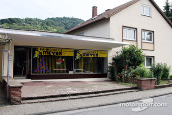 Sebastian Vettel's home town visit in Heppenheim, Germany: his driving shool