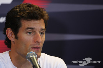 FIA Thursday press conference: Mark Webber, Red Bull Racing