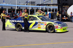 Menards Dodge of Robby Gordon at tech inspection
