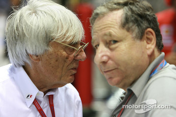 Ecclestone is ready to fight with Todt about new engine formula