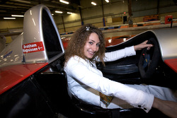 Endurance-info.com's Julie Sueur tries the Panoz P1 car